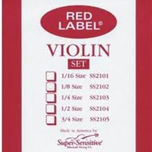 Super Sensitive Red Label Set Violin 1/8